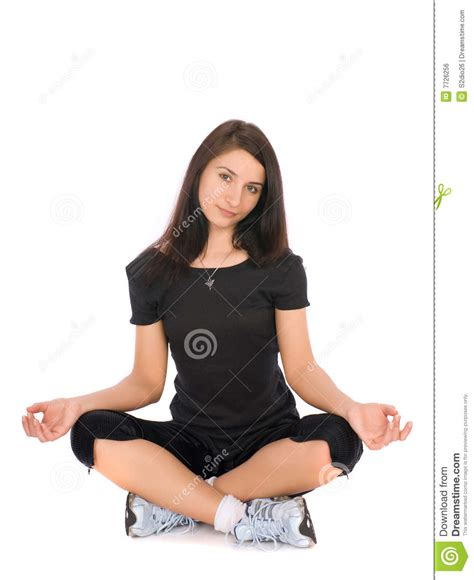 lotus position images lotus position royalty free stock image image 7726256