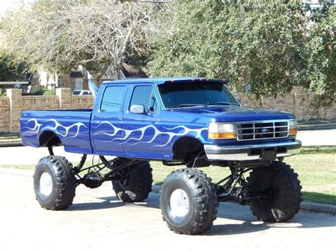 how long is a monster truck show 1997 ford f 350 7 3l diesel 4x4 crew cab long bed xlt