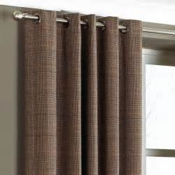 80 Blinds Paoletti Courcheval Tartan Check Lined Eyelet Curtains