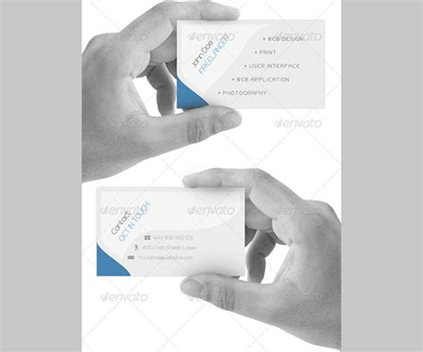 sided card template 12 best cheap sided business cards free