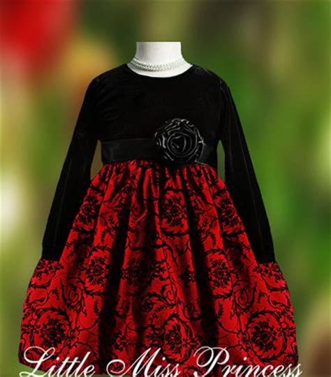 black velvet girls christmas dress christmas pinterest