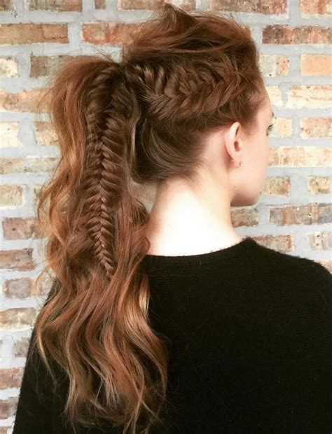 hairstyles for long hair veni 17 best ideas about wavy ponytail on pinterest big