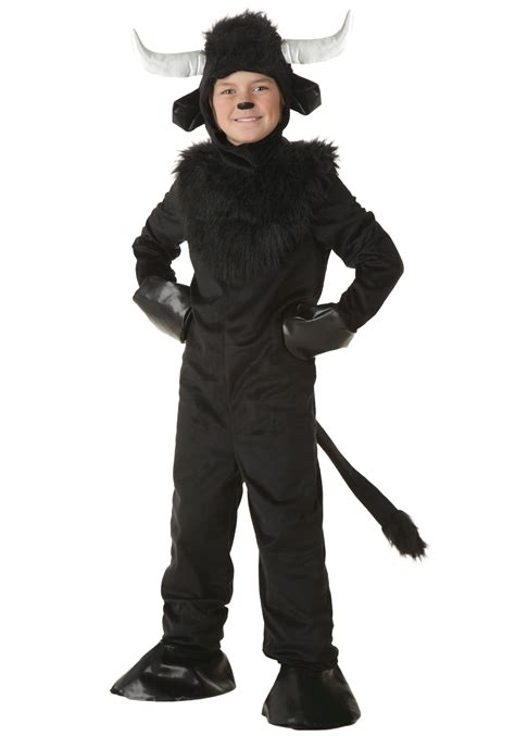halloween costumes child bull costume