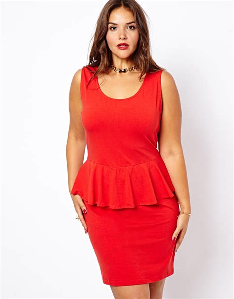Dress Syari Soft Maxmara Arina asos new look inspire sleeveless peplum dress in lyst