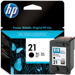 Tinta Hp 21 Black By Inksupplier quot jual tinta printer original quot hp black ink cartridge 21
