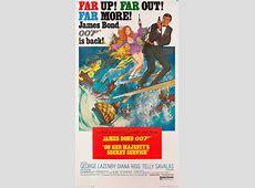 James Bond - On Her Majesty's Secret Service ⋆ Retro Movie ... George Lazenby James Bond