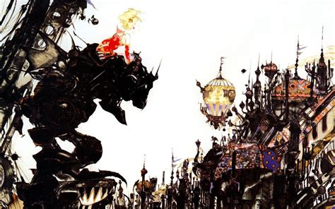 wallpaper animasi final fantasy final fantasy vi wallpapers wallpaper cave