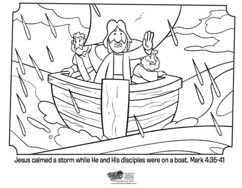 coloring pages jesus in the boat coloring page from what s in the bible showing jesus