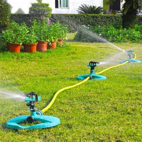 backyard sprinkler system water sprinkler system impulse long range sprinklers for
