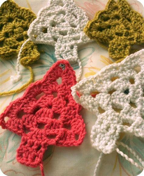 crocheted christmas tree garland ideas best 25 crochet tree ideas on crochet crochet patterns and