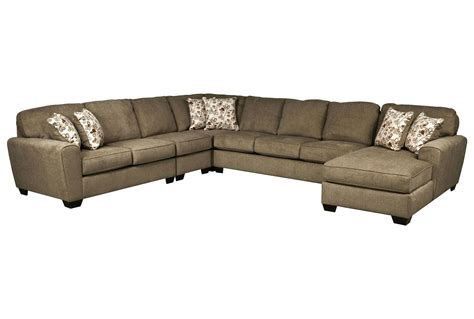 Patola Park 5 Piece Sectional W Raf Chaise Living Spaces