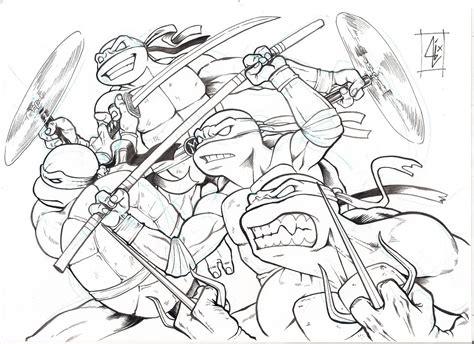 printable w 9 michigan desenhos print paint tartarugas ninjas para imprimir e