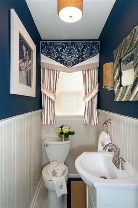 window decor powder room small powder room makeover after transitional powder