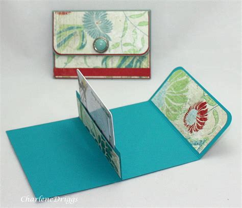 how to make a card holder for cards paper and ink playground gift card holders in abundance