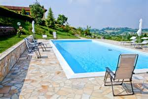 Patio Around Pool Flagstone Patios For Your Yard Designwalls Com