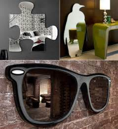 cool mirror 10 cool and unusual wall mirrors design swan