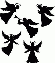 designing silhouettes of angels demo angel silhouette printable google zoeken for the home