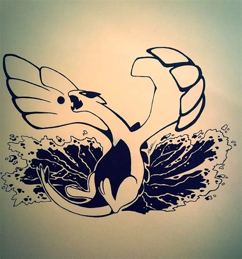 lugia tattoo lugia by luckylavender on deviantart