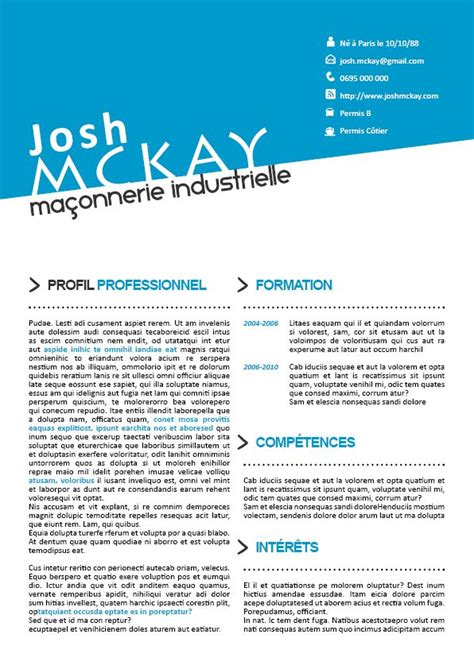 original resume templates 46 best images about cv originaux on