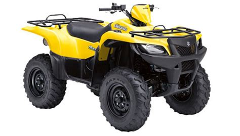 Suzuki Atv Suzuki Unveils 2011 Kingquad 500 Axi And 2010 Kingquad 450