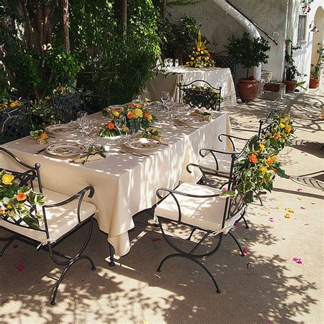 decorations in italy for weddings in italy table decorations for country wedding
