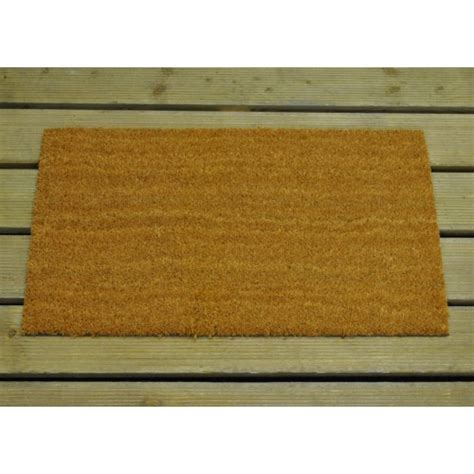 Large Coir Doormat by Large Coir Outdoor Doormat 40cm X 70cm