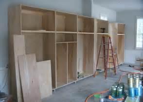 Shelf Designs For Garage Diy Building Garage Shelves The Better Garages