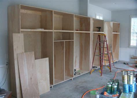 building garage shelves diy building garage shelves the better garages