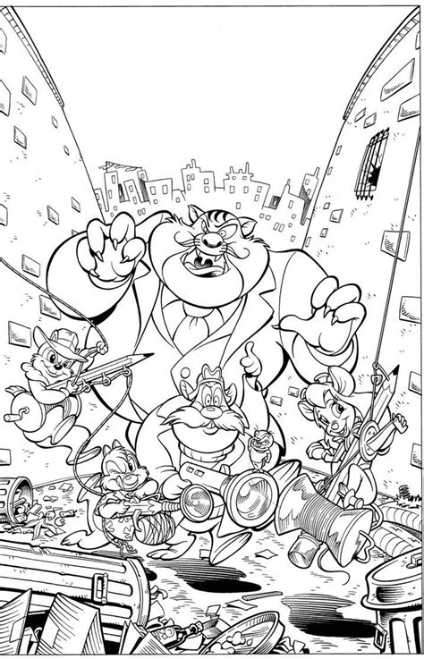Chip And Dale Rescue Rangers Coloring Pages by 22 Best Knabbel En Babbel Images On Asd