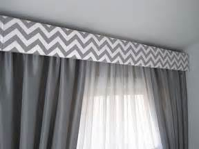 Upholstered Cornice Window Treatments 17 Best Ideas About Chevron Valance On