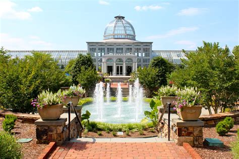 Ginter Botanical Gardens Lewis Ginter Botanical Gardens Architecture Richmond