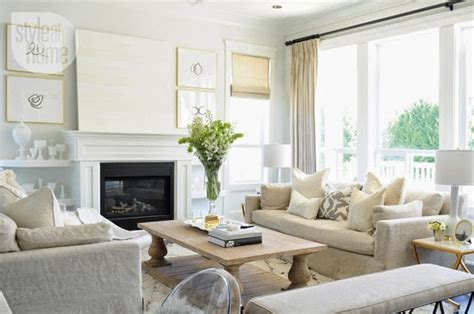 white beige living room mixing white and beige the decorista