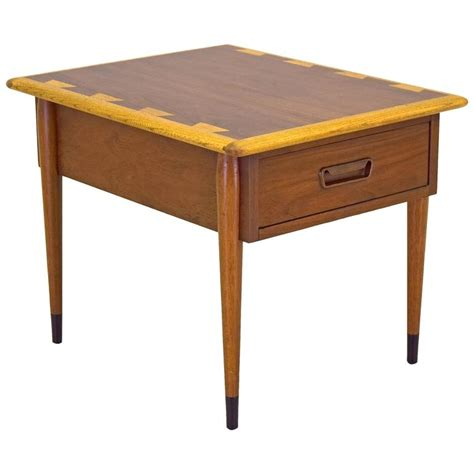 mid century accent table lane acclaim nightstand side or end table vintage mid