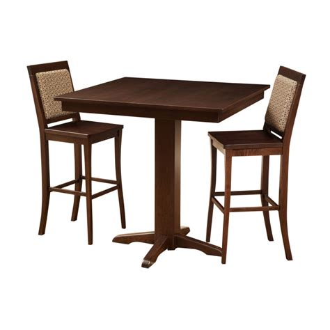 Contemporary Bar Table Contemporary Pub Table Home Envy Furnishings Solid Wood Furniture Store
