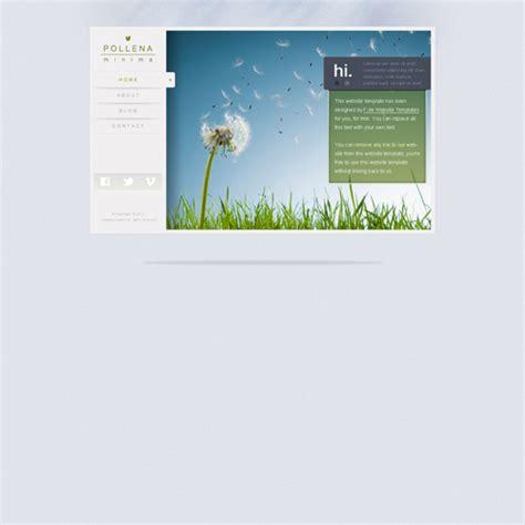 minimalist website templates free minimalistic web template free website templates