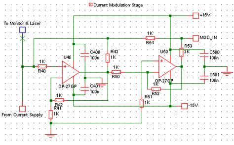 laser diode and modulation index of carini gouldlab diodes circuits sink