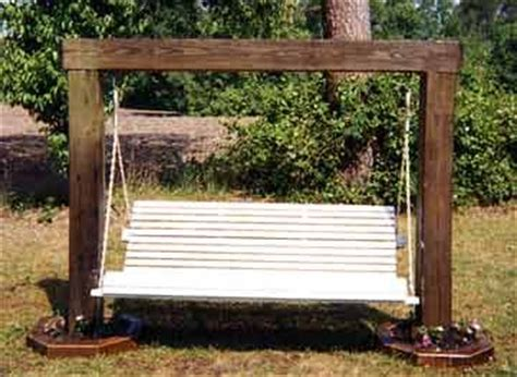 bench swing plans bench swing frame plans bing images gardening pinterest