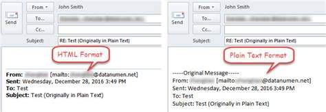 html format vs text 2 methods to always reply in html format in outlook data