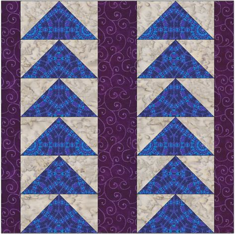 Flying Geese Quilting Pattern by Flying Geese Pines Design Paper Foundation Quilting