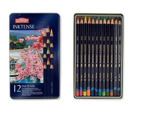 Derwent Water Colour Pencil Set 12 derwent inktense colored pencil sets jerrysartarama