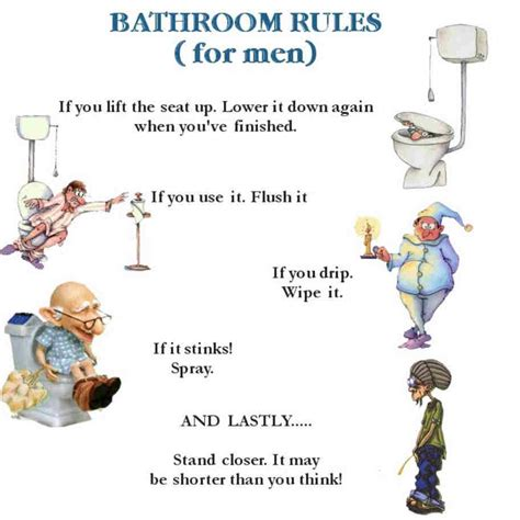 male bathroom etiquette funny toilet quotes quotesgram