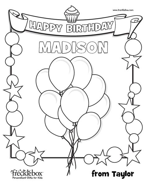 Jackie Letter J Girls First Name Coloring Pages Name Personalized Happy Birthday Coloring Pages