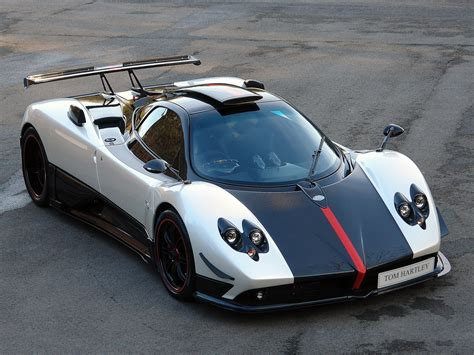 pagani zonda white stock tom jnr