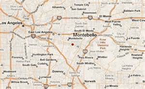 map of montebello california montebello location guide