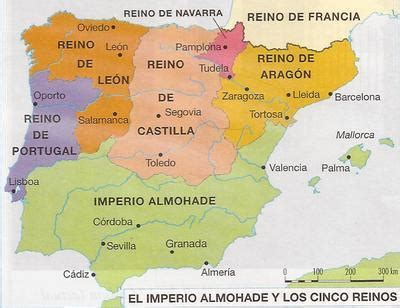 reconquista del reino de 8408176129 los reinos cristianos en la edad media principales etapas de la reconquista