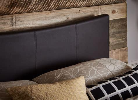 Jakarta Bed Frame Jakarta Bed Frame Brown Faux Leather Dreams