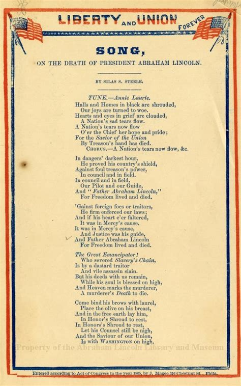 songs about lincoln song on the of president abraham lincoln