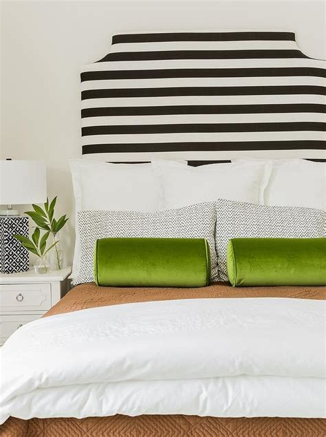 Interior Design Inspiration Photos By Sabbe Interior Design Black And White Striped Headboard