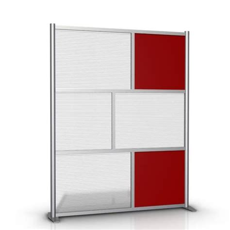 Acrylic Room Divider 60 Quot X 75 Quot Modern Room Divider Office Partition Wall