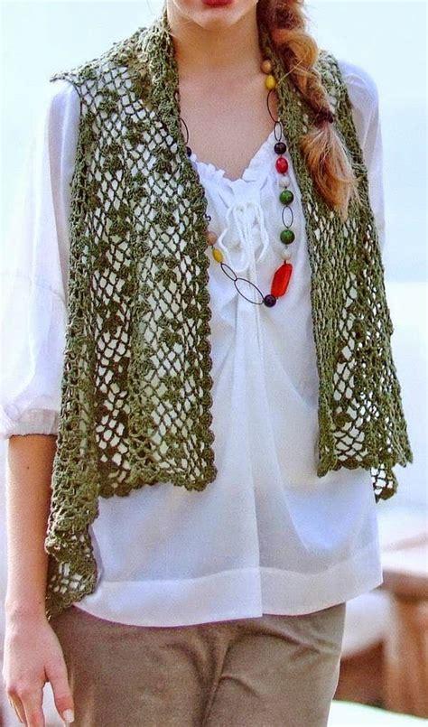 pinterest vest pattern stylish easy crochet crochet lace vest pattern for women